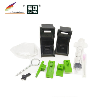 (T15) professional refill holder ink suction tool clip for hp 60 61 802 902 for canon PG40 41 PG210 PG510 PG-40 PG-210 PG-510