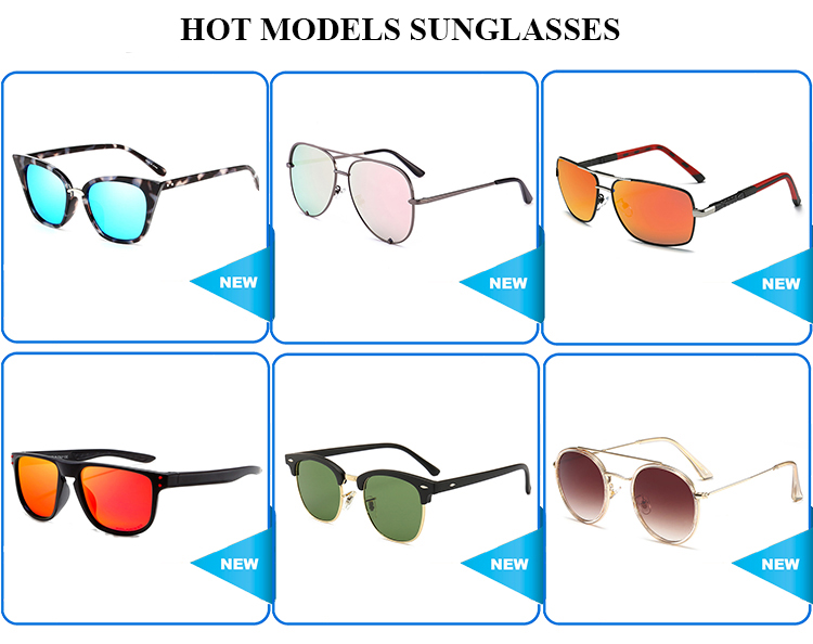2019 Newest models promotional  fashion unisex plastic sunglasses for Cool LH-050