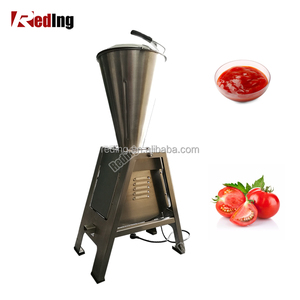 Profession Industrial Small Fruit Vegetable Juice Extractor Machine Garlic Sauce Tomato Paste Making Machine