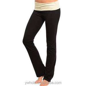Hot Selling Fashion Breathable Free Size Yoga Pants Wholesale Hot sale Casual Long 100% Cotton Black Anletic Leggings