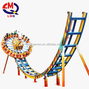 China cheap manufacture adult outdoor games rides Amusement flying ufo fun fair rides