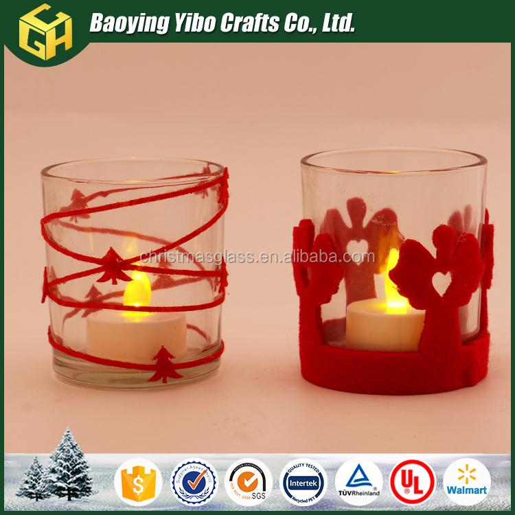 F brica f brica de cristal sostenedor de vela de cristal - Fabricantes de cristal ...