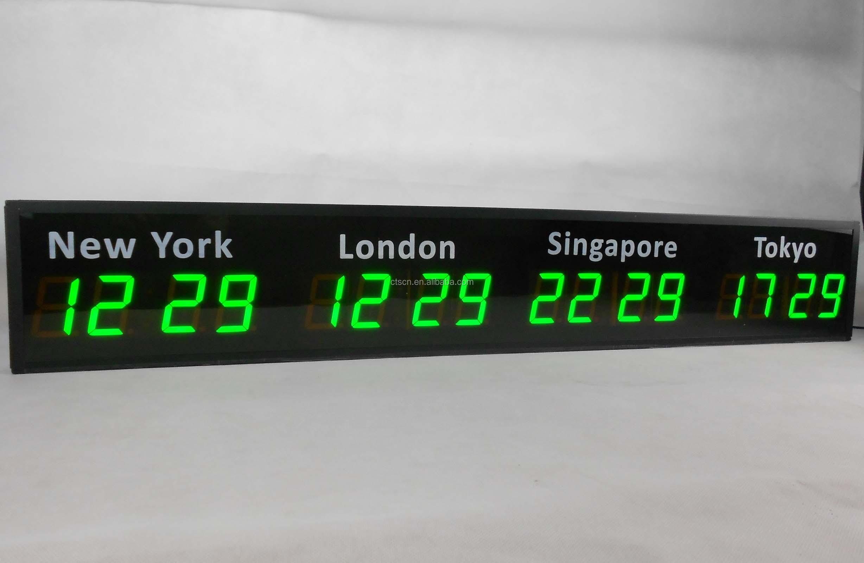 Multi Time Zone Desk Clock Diyda Org Diyda Org