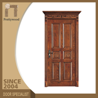 Swing Open Style Sapele Single Leaf Plain Internal Wooden Door