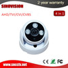 Fixed lens dome camera arrey LED HD 4 IN 1 1080P sony sensor