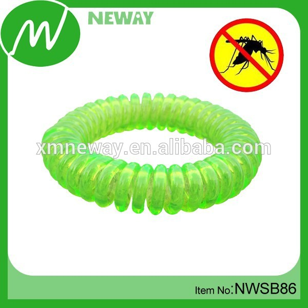 Cheap Anti-mosquito Wholesale Plastic Telephone Wire Bracelet