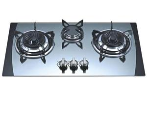 Hot Selling Competitive Price Sabaf Burners Mirror Tempered Glass Gas Hob