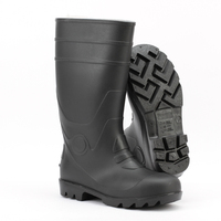 american steel toe cap safety footwear farming rain boots