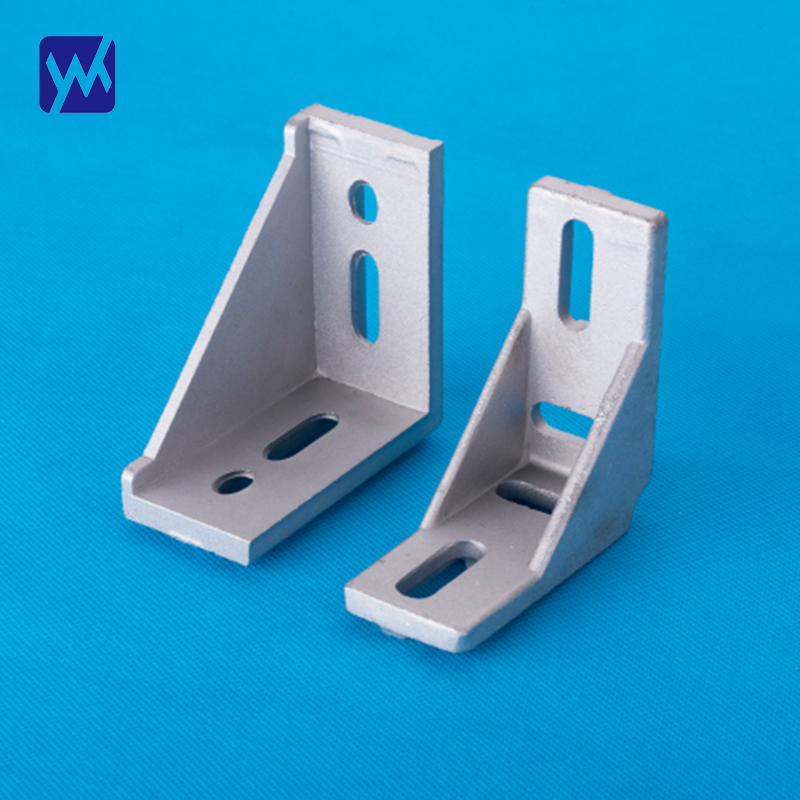 Customizable high quality cast aluminum profile angle pieces spare parts