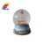 Promotional Cheap Homemade Resin Crystal Snow Globe Water Ball