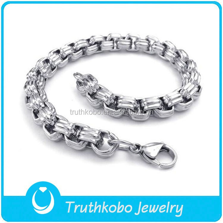Tkb-n0033 Stainless Steel Chain Set Silver Chain Design For Man ...
