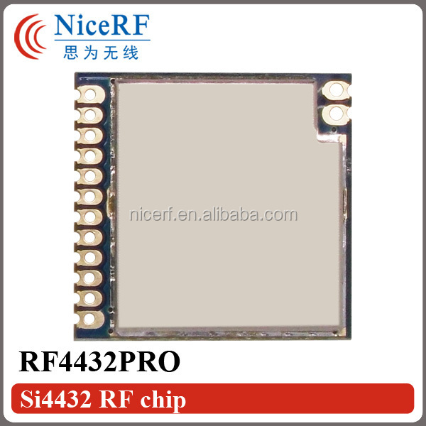 G-NiceRF RF4432PRO - 100mW 1400m distance SPI interface Si4432 anti-interference wireless rf transmitter and receiver module