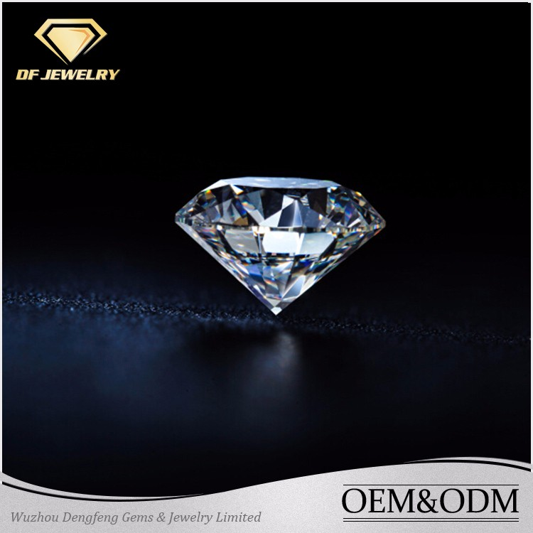Pure white moissanite rough diamond 1 carat diamond price