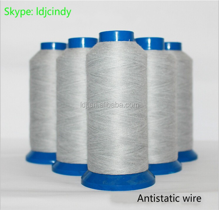Antistatic fiber 30 s / 2 sewing thread