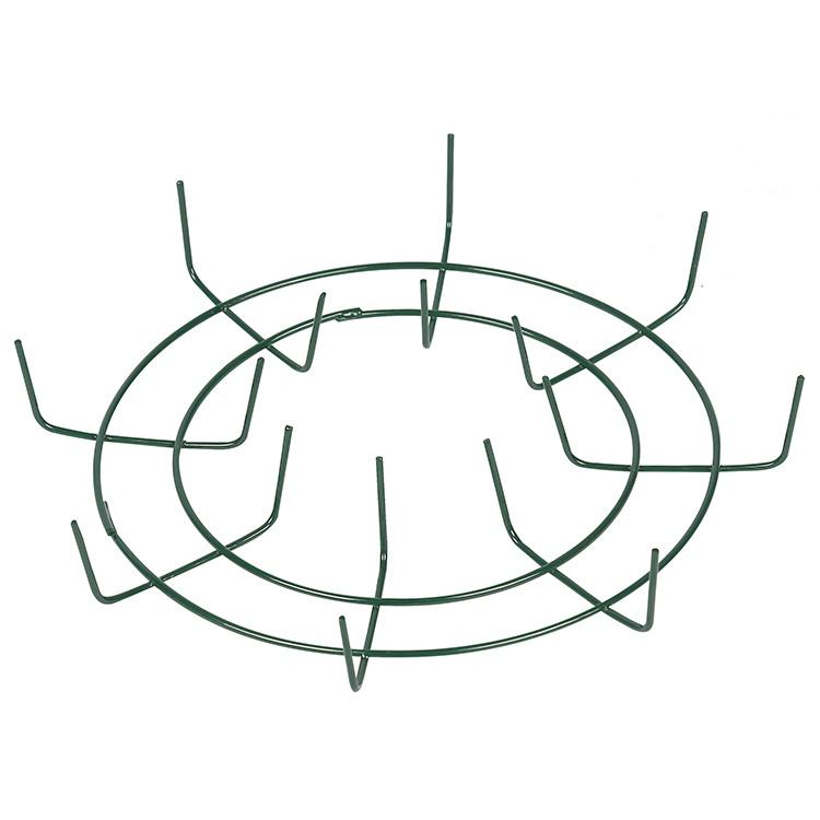 Cross type wire wreath frame HD973040