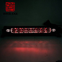 New arrival 20 inch 54cm 120w front bumper led light bar offroad 4x4 RGB blueteeth colorful light bar