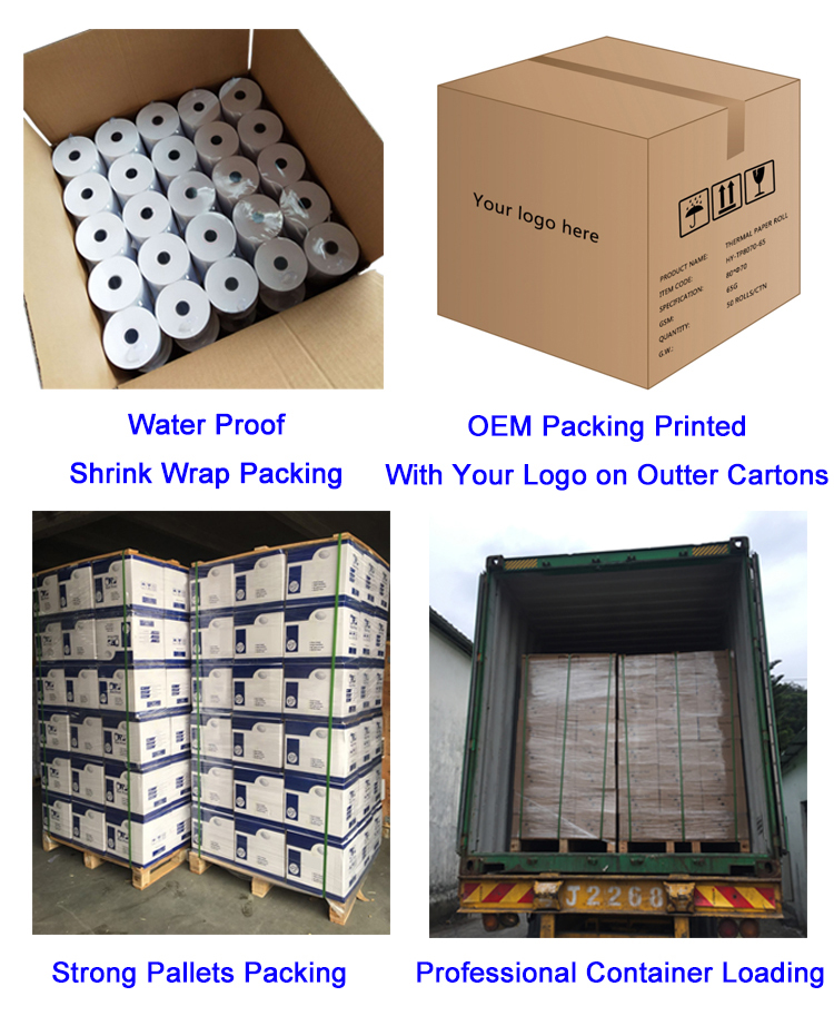 Thermal Receipt Till Thermal Paper rolls 80x80mm