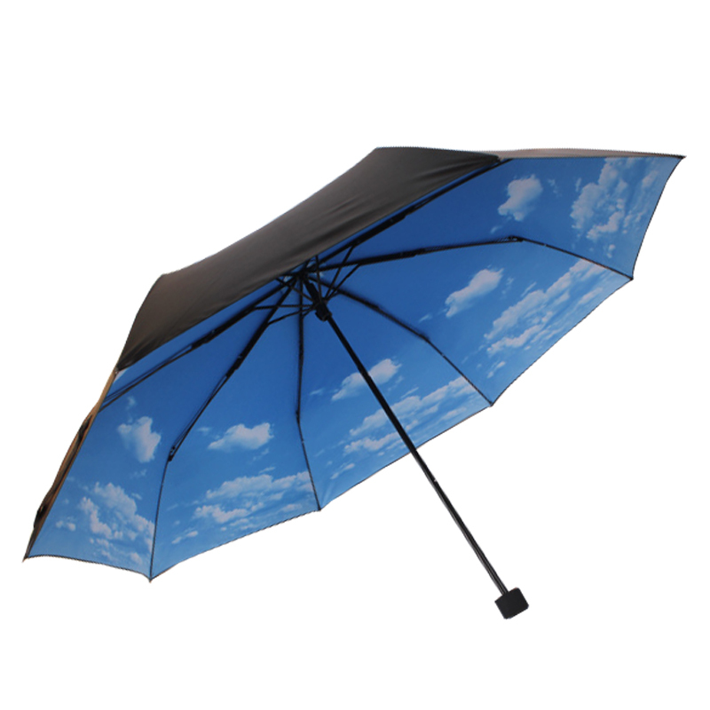 logo printing advertising folding rain umbrella