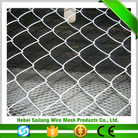 Hot product Family Yard applied widely decorative chain link fence prices