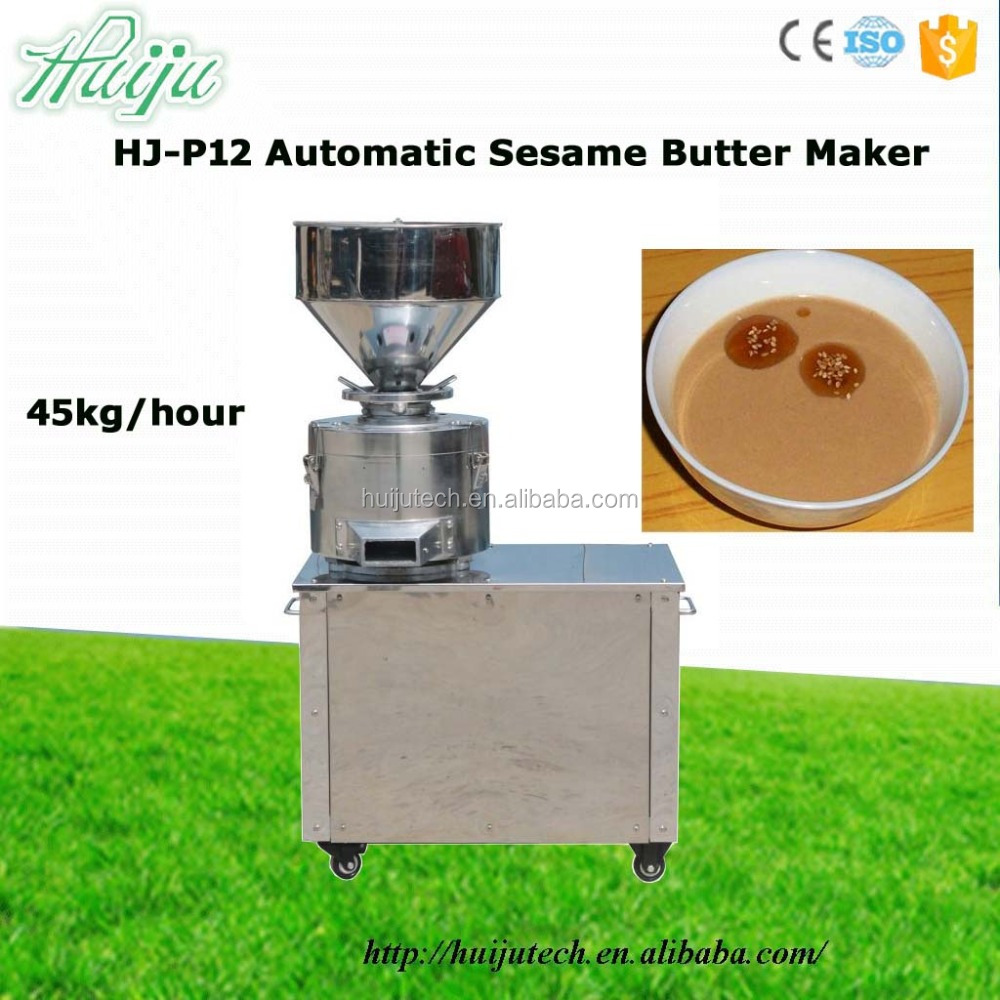 45kg capacity white sesame butter making machine / tomato paste machine HJ-P12