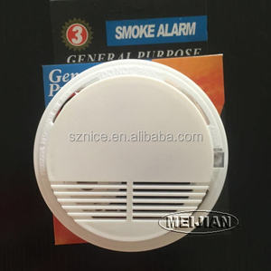 OEM&OEM 9V Battery Operated Stand Alone Photoelectric fire detector smoke alarm