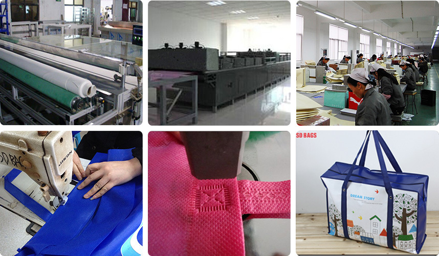 China manufacturer non woven bag price , metallic non woven bag