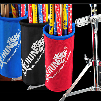 1680D Oxford Nylon Mallet/Brush/Beater Stick Holder Drumsticks bag holder with Aluminum Clamp