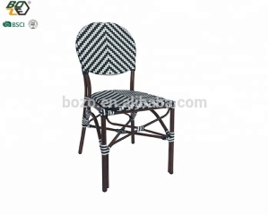Aluminum Frame garden Bamboo look outdoor rattan Patio Furniture