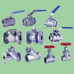 Industrial Valves - Ball/Gate/Globe/Swing/Check/Y Strainer Valves