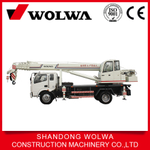 high quality 8 ton truck crane mounted drill and basket attachments
