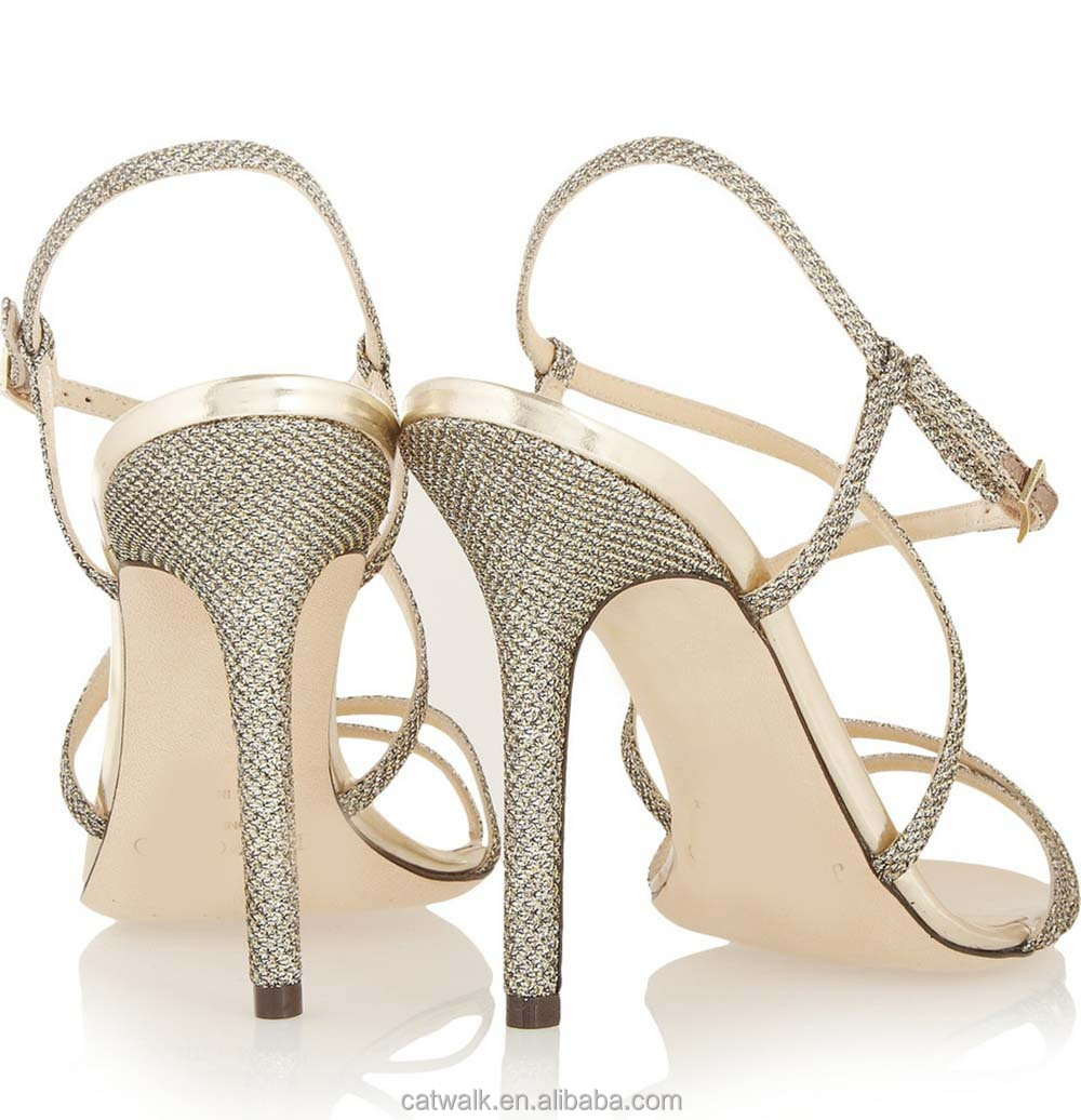 European sandals shoes - European New Simple Design Branded Shiny Glitter Sandals Sexy Open Toe High Heel Women Shoes
