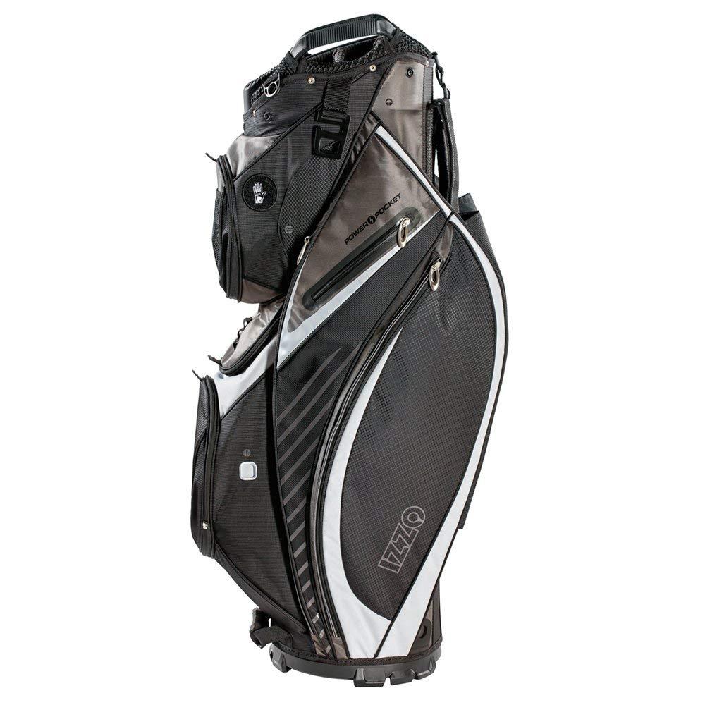 6d59de9e6d53 Get Quotations · IZZO Gemini Cart Golf Bag - Black