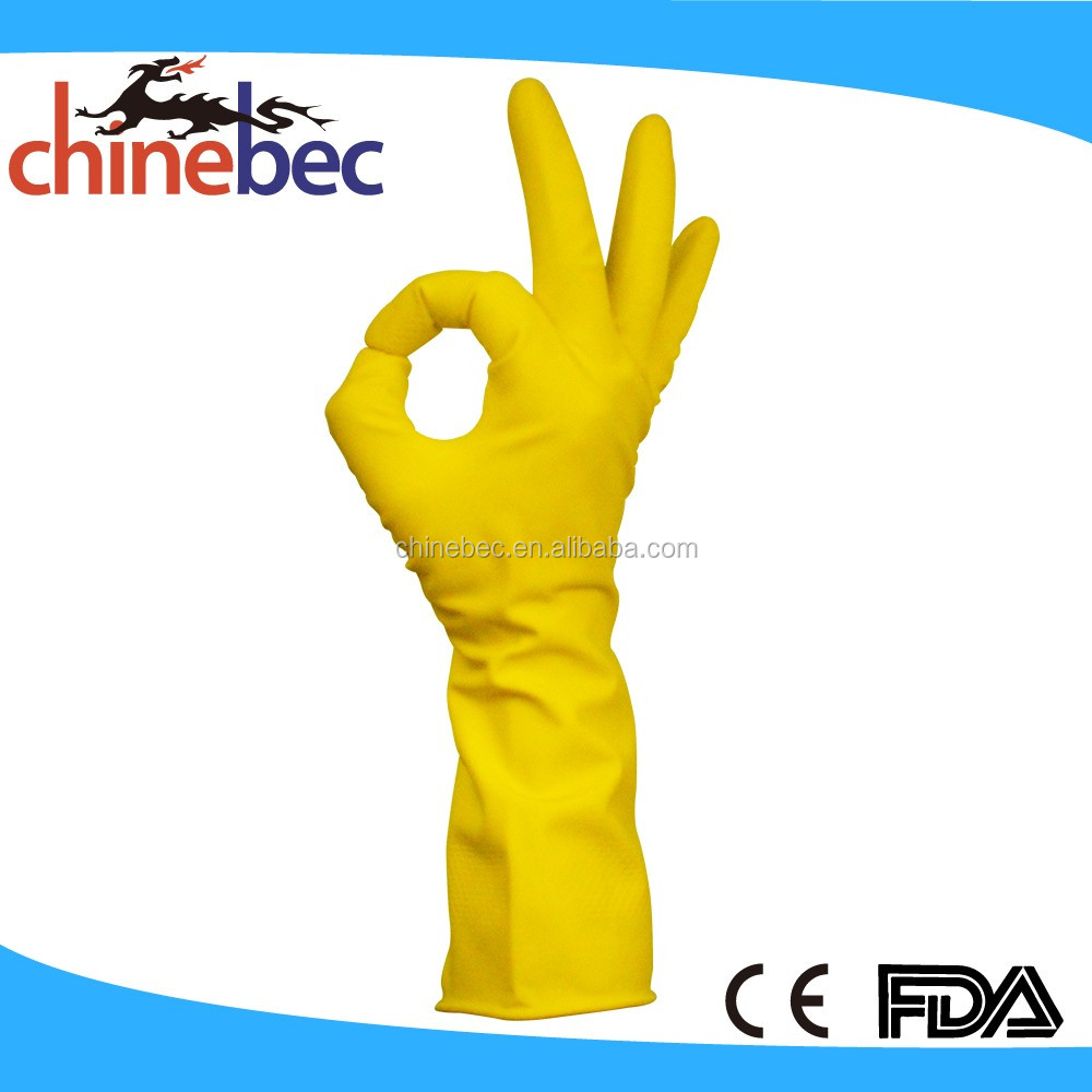 New Design Waterproof Car Wash Gloves/Latex Household Gloves