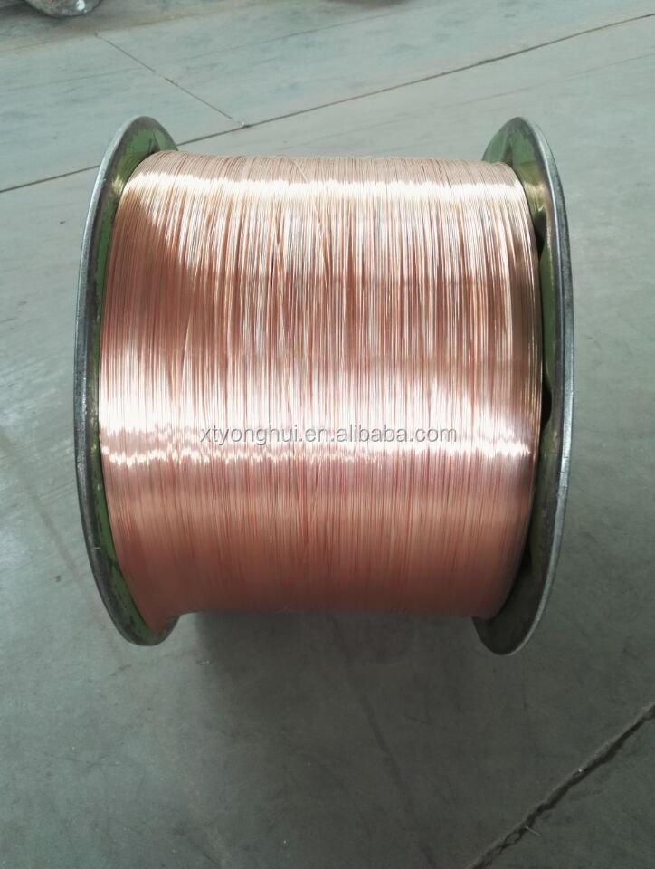 Annealed bare copper wire for electric or cable wire 99.95% purity 0.01-8.0mm