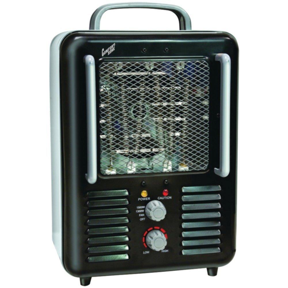 COMFORT ZONE CZ798BK Deluxe Milkhouse Heater/Fan Home & Garden Improvement