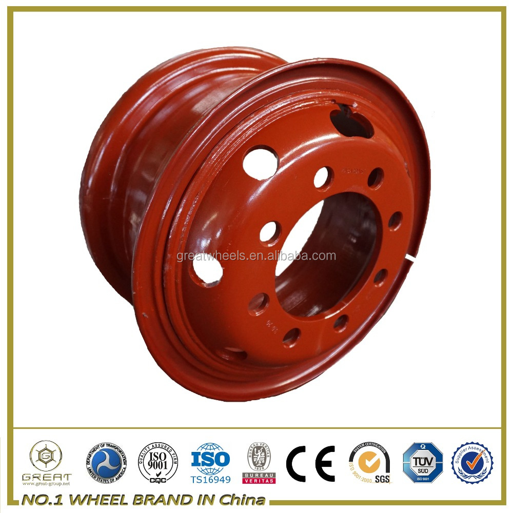 Truck Steel Wheel Rim For 385 65 22.5