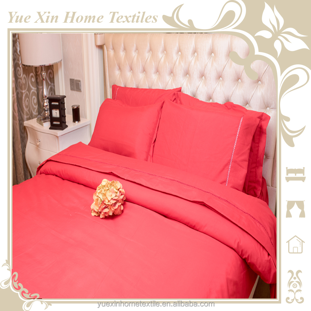 Best selling quilt cover set with button seal and elegant hollow design duvet cover set