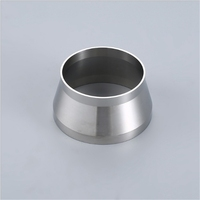 High quality sanitary stainless steel 304 concentric weld reducer for distillation equipments