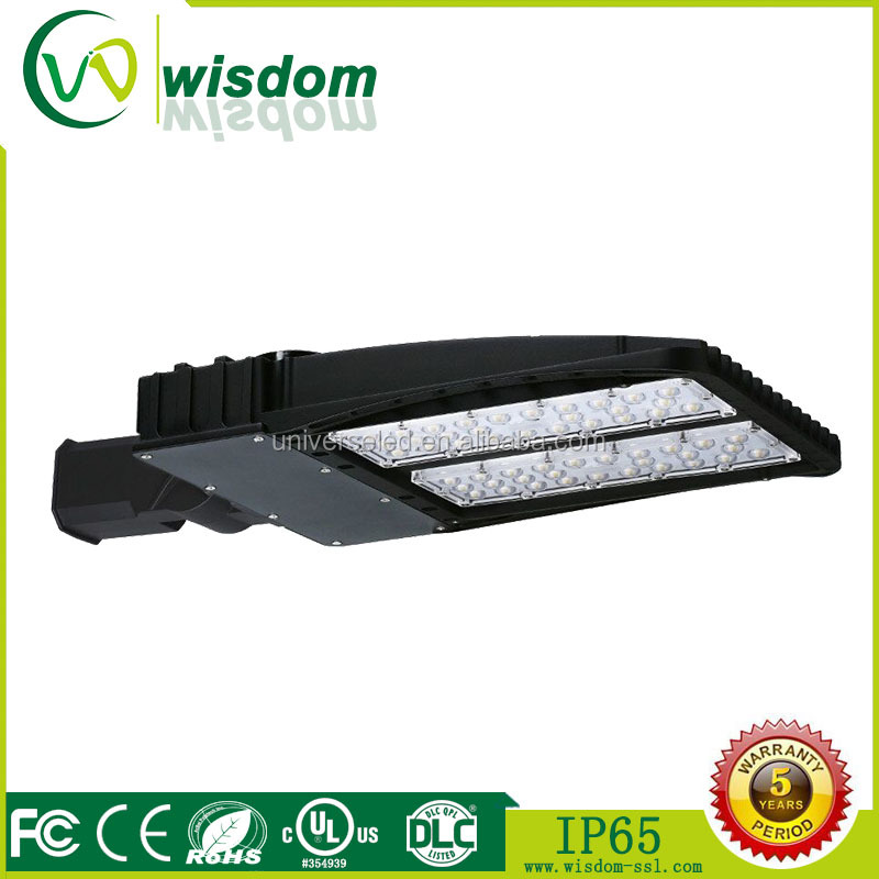 WSD parking lots 200w led shoebox light 130lm/w retrofit kit street lighting 2017 industrial led sreet light