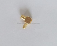 mmcx male CRIMP right angle 90 degree rg316 cable connector