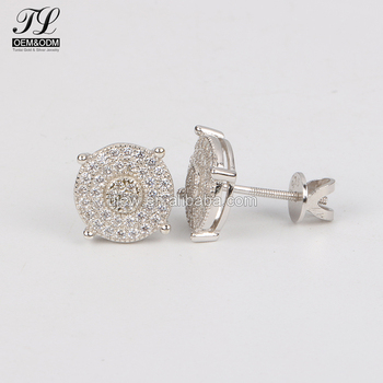 In Stock Aaaaa Fashion Guys Earrings Costume Jewelry Best For