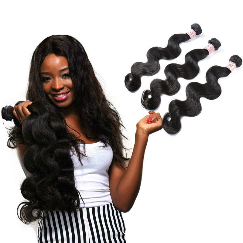 Free Shipping Human Hair Weft Length 12 14 16 And 10 Inch Virgin Indian Hair Closure