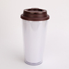 450ml Reusable Clear Double Wall Plastic Cup Photo Inserts