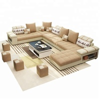 B107 Modern Style Design Fabric Sofa Set 7 Seater