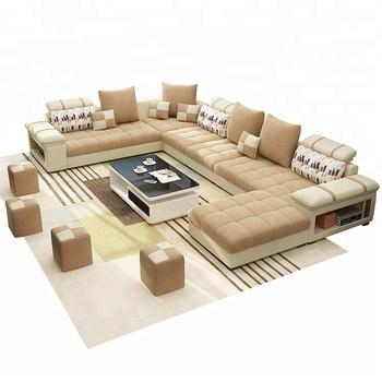 B107 Modern Style Design Fabric Sofa Set 7 Seater