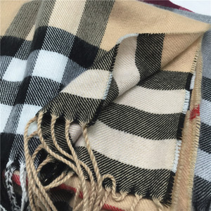 22 colors winter tassels long men's stripe scarf factory