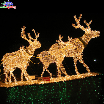 Large Led 3d Outdoor Christmas Decoration Led Light Reindeer Buy Large Led 3d Outdoor Christmas Decoration Led Light Reindeer Outdoor White Lighted