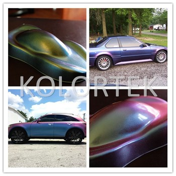 Metallic Car Paint Colours >> Metallic Car Paint Colors Chameleon Effect Pigment Powder Coatings