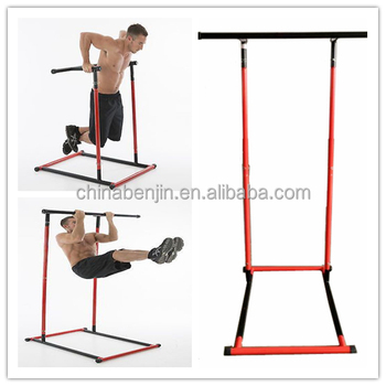 strength training dip bar pull up station fitness workout frame