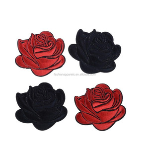 Iron-on Rose Patches Flower Embroidery Appliques for DIY Clothing,Shoes and Craft